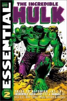 Essential Incredible Hulk, Vol. 2 (Marvel Essentials) - Book  of the Essential Marvel