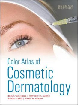 Color Atlas of Cosmetic Dermatology 0071635033 Book Cover
