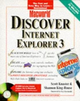 Paperback Macworld Discover Internet Explorer 3 Book