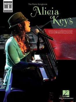 Alicia Keys: The Piano Songbook 1423488539 Book Cover