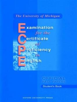 Paperback Michigan Proficiency Student's Book