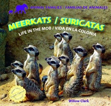 Library Binding Meerkats/Suricatas: Life in the Mob/Vida En La Colonia Book