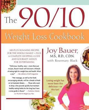 The 90/10 Weight Loss Cookbook 0312336020 Book Cover