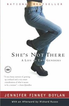 Paperback She's Not There: A Life in Two Genders Book