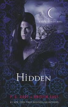 Hardcover Hidden (The House of Night) [Large Print] Book