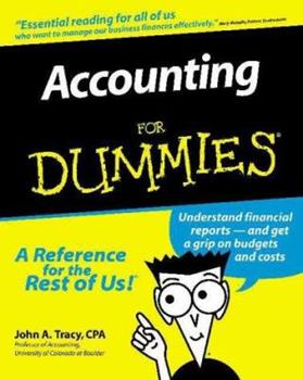 Paperback Accounting for Dummies Book