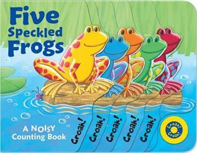Five Speckled Frogs 1845063961 Book Cover
