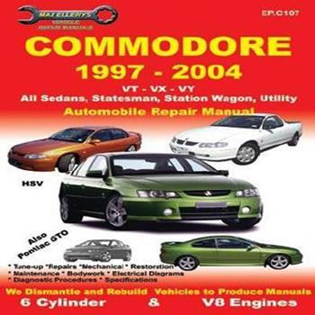 Paperback Commodore 1997-2004 Book
