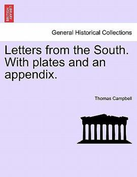 Paperback Letters from the South with Plates and an Appendix Book