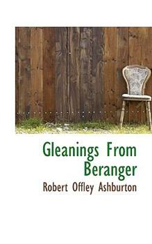 Paperback Gleanings from Btranger Book