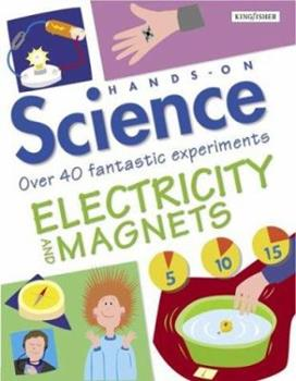 Paperback Electricity and Magnets (Hands-on Science) Book