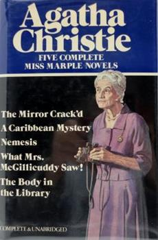 Hardcover The Mirror Crack'D, a Caribbean Mystery, Nemesis, What Mrs. McGillicuddy Saw! , & the Body in the Library. Book