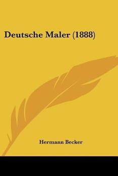 Paperback Deutsche Maler (1888) Book