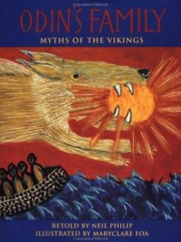Paperback Odin's Family : Myths of the Vikings Book