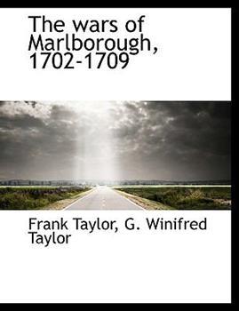 Paperback The Wars of Marlborough, 1702-1709 Book