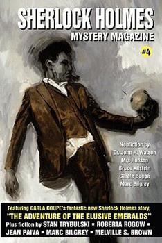 Sherlock Holmes Mystery Magazine #4 1434408698 Book Cover