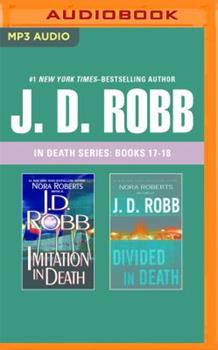 MP3 CD J. D. Robb: In Death Series, Books 17-18: Imitation in Death, Divided in Death Book