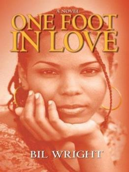 Hardcover One Foot in Love [Large Print] Book
