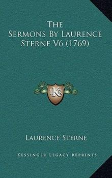 Hardcover The Sermons by Laurence Sterne V6 Book