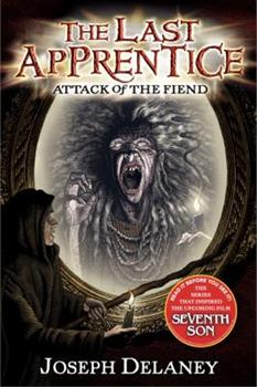 Attack of the Fiend by Joseph Delaney Unabridged Playaway Audiobook 0060891297 Book Cover