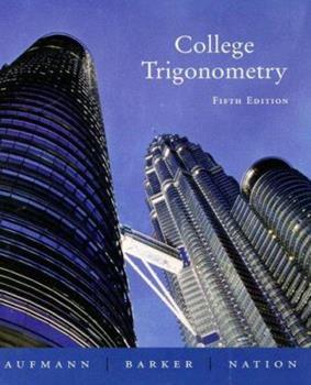 College Trigonometry 0395638135 Book Cover