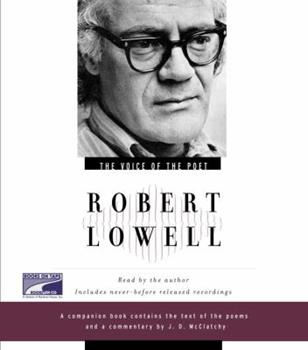The Voice of the Poet : Robert Lowell - Book  of the Voice of the Poet