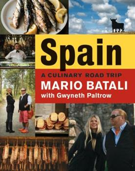 Spain... A Culinary Road Trip 0061560936 Book Cover