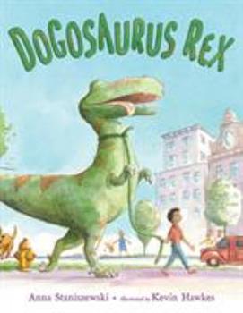 Hardcover Dogosaurus Rex Book