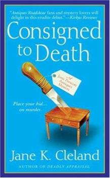 Consigned to Death 0312347251 Book Cover