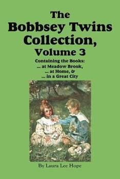 The Bobbsey Twins Collection, Volume 3: At Meadow Brook; At Home; In a Great City - Book  of the Original Bobbsey Twins