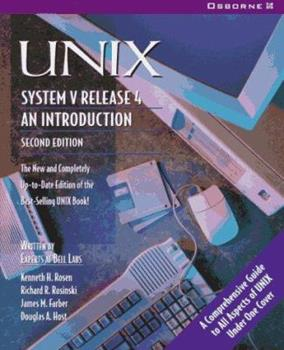 UNIX System V Release 4 : An Introduction For New and Experienced Users 0078815525 Book Cover