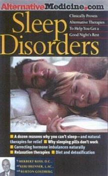 Sleep Disorders: An Alternative Medicine Definitive Guide 1887299203 Book Cover