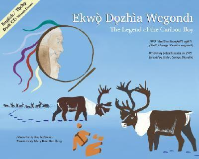 Hardcover The Legend of the Caribou Boy Book