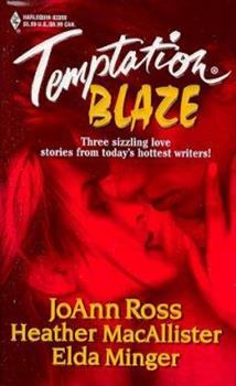 Blaze (Midnight Heat / A Lark in the Dark / Night Fire) 0373833695 Book Cover