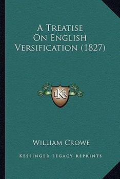 Paperback A Treatise on English Versification Book