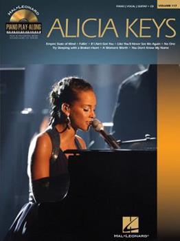 Alicia Keys: Piano Play-Along Volume 117 1458415740 Book Cover