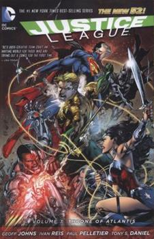 Justice League, Volume 3: Throne of Atlantis - Book #3 of the Justice League 2011