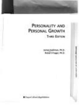 Personality and Personal Growth 0065007727 Book Cover