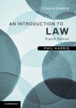 Paperback An Introduction to Law Book