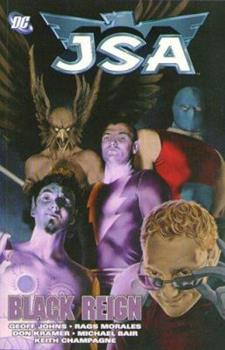 JSA, Vol. 8: Black Reign - Book  of the Complete Justice Society