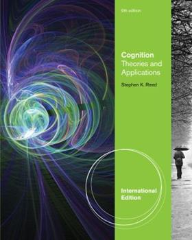 Paperback Cognition: Theories and Applications Book