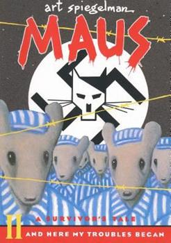 Paperback Maus II: A Survivor's Tale: And Here My Troubles Began Book