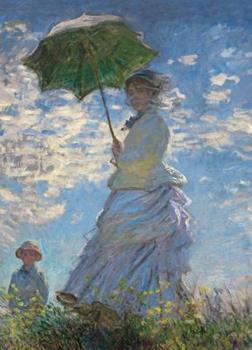 Woman with a Parasol Notebook 0486819418 Book Cover