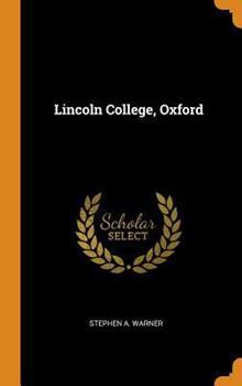 Hardcover Lincoln College, Oxford Book