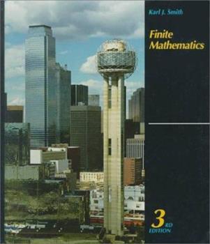 Finite Mathematics 0534089046 Book Cover