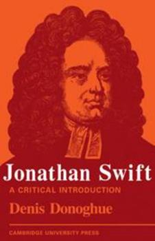 Jonathan Swift: A Critical Introduction 0521141354 Book Cover