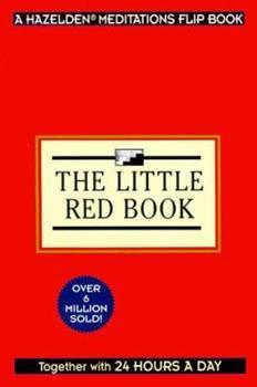 Twenty-Four Hours a Day the Little Red Book (Hazelden Meditations Flip Book) 1567312594 Book Cover