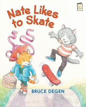 Nate Likes to Skate 0823434567 Book Cover