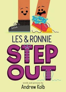 Hardcover Les & Ronnie Step Out Book