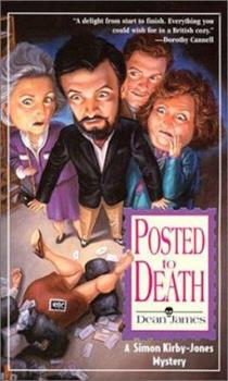 Posted To Death: A Simon Kirby-Jones Mystery 1575668858 Book Cover